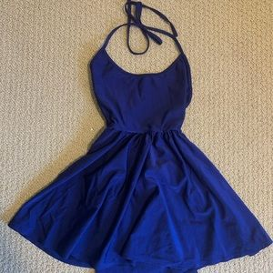 Nylon blue dress from American apparel